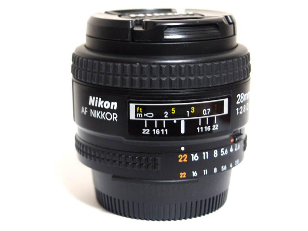 ニコン Ai AF Nikkor 28mm F2.8D買取について
