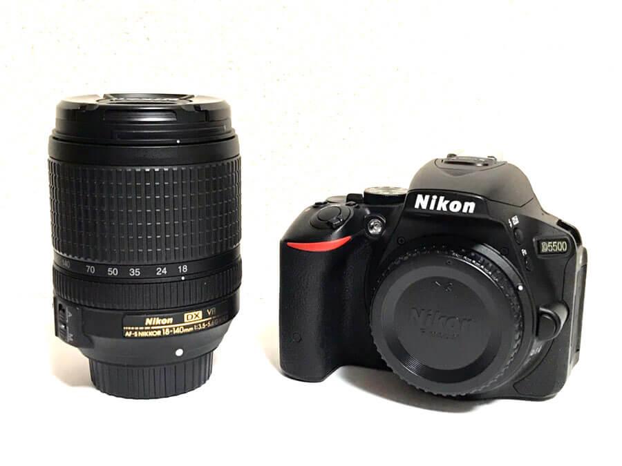 Nikon D5500 18-140 VR Kit 買取