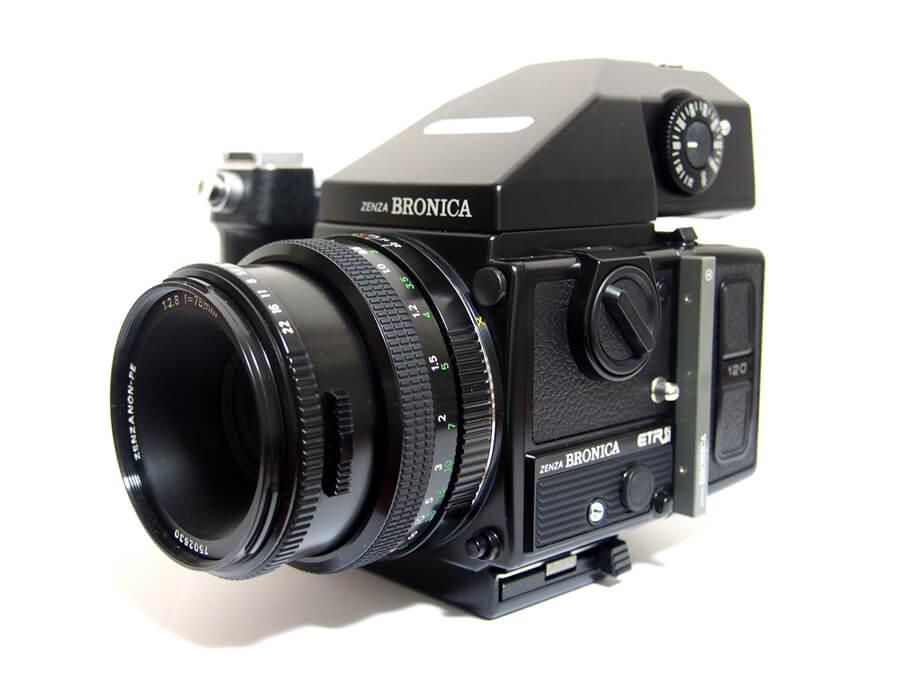 ZENZA BRONICA(ゼンザブロニカ) ETR-Si 645判 一眼レフカメラ