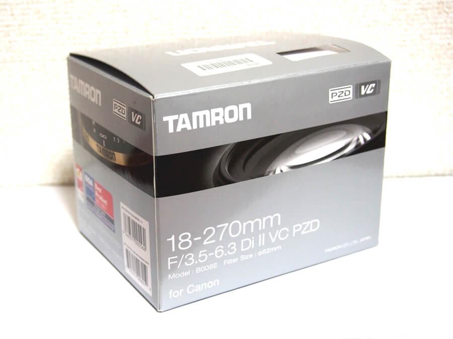 TAMRON(タムロン) 18-270mm F3.5-6.3 DiⅡ VC PZD B008E キヤノン用レンズ