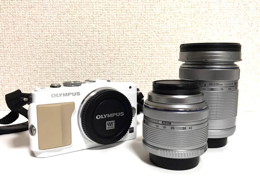 OLYMPUS(オリンパス) PEN Lite E-PL5 ダブルズームキット ミラーレス一眼カメラ