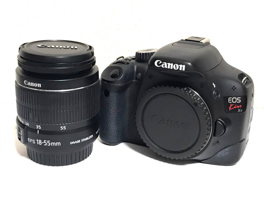 Canon(キヤノン) EOS kiss X4 EF-S 18-55 IS 一眼レフカメラ レンズキット