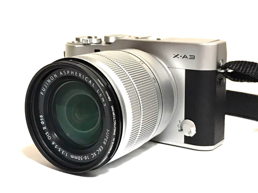 FUJIFILM(富士フイルム) X-A3 ミラーレス一眼カメラ XC 16-50mm F3.5-5.6 OISⅡ レンズキット
