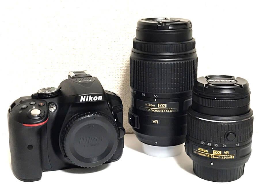 Nikon(ニコン) D5300 ダブルズームキット 一眼レフカメラ