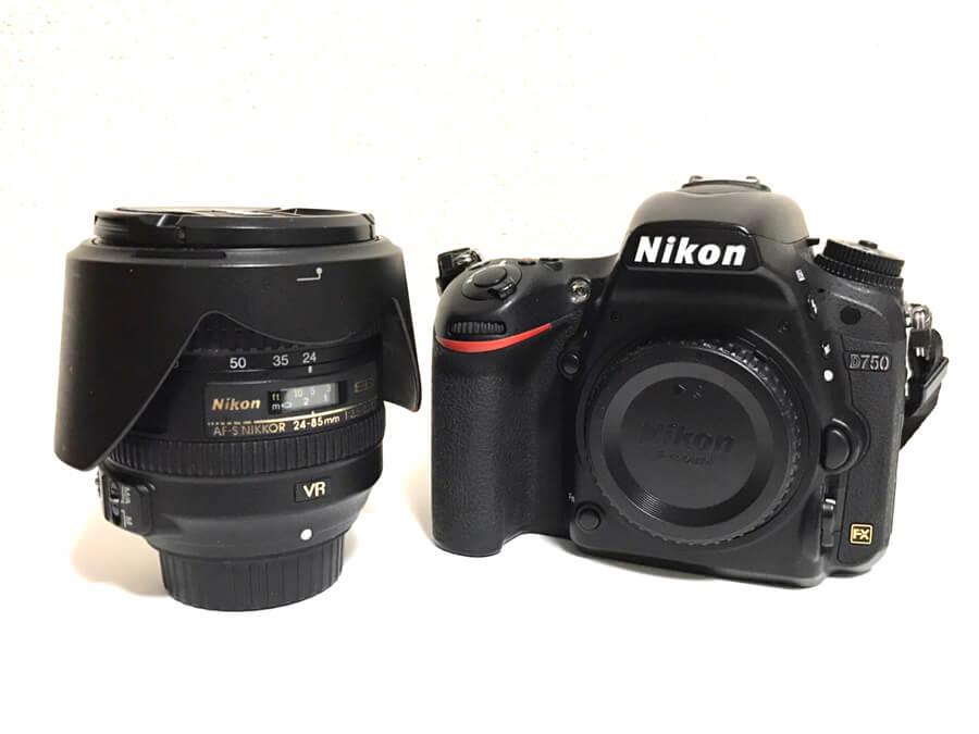Nikon(ニコン) D750 AF-NIKKOR 24-85mm F3.5-4.5G ED デジタル一眼レフカメラ レンズキット