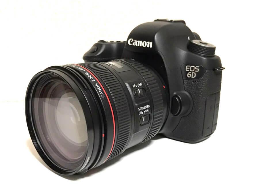 Canon(キヤノン) EOS 6D EF24-70mm F4L IS USM レンズキット 一眼レフカメラ