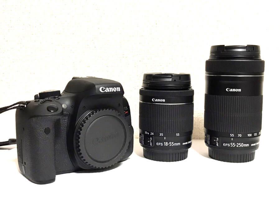 本日は福岡県より出張にて買取させていただきました、Canon(キヤノン) EOS Kiss X8i ダブルズームキット デジタル一眼レフカメラ