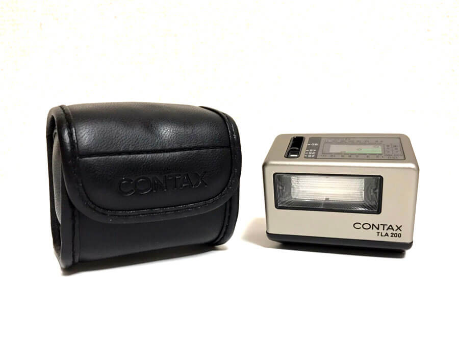 CONTAX(コンタックス) TLA200 エレクトロニック フラッシュ