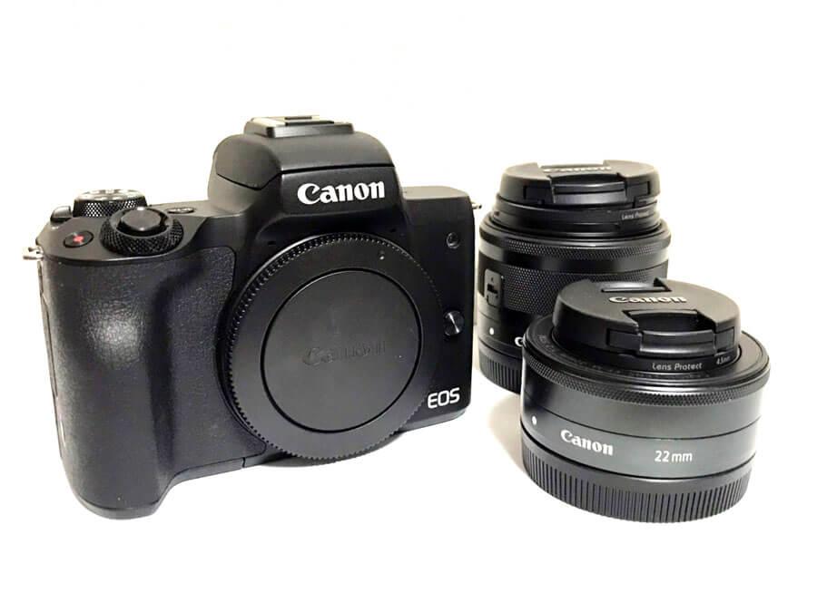 Canon(キヤノン) EOS kiss M ミラーレス一眼カメラ ダブルレンズキット