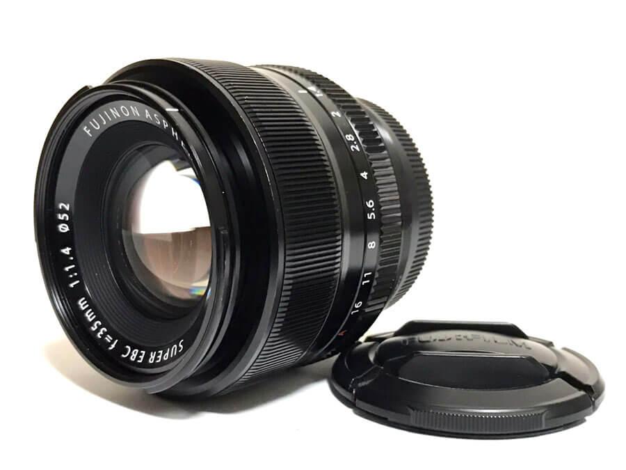 FUJIFILM(富士フイルム) FUJINON ASPHERICAL LENS SUPER EBC 35mm F1.4 単焦点レンズ