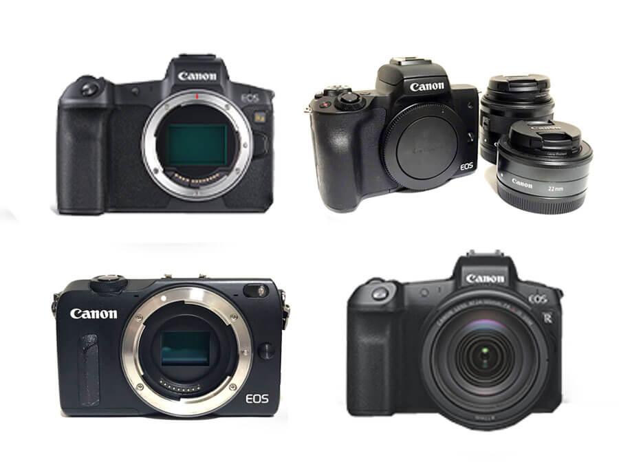 Canon ミラーレスカメラ 買取一覧