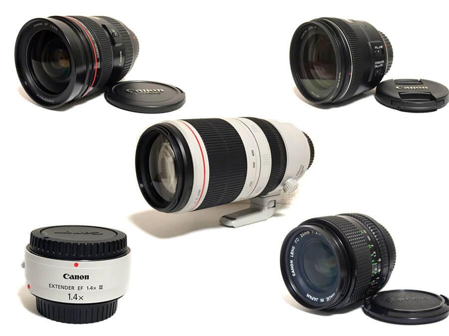 Canon レンズ 買取