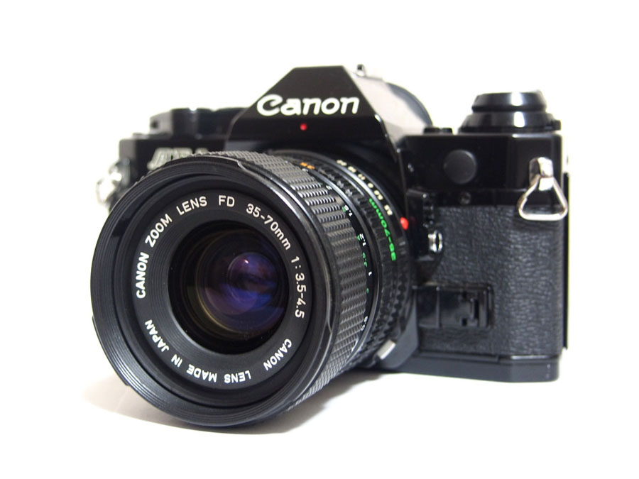 CANON(キヤノン) AE-1 PROGRAM + ZOOM LENS FD 35-70mm F3.5-4.5 一眼レフフィルムカメラ