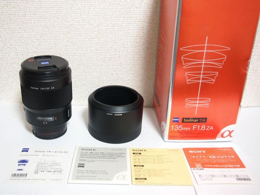 SONY(ソニー) Sonnar T* 135mm F1.8 ZA SAL135F18Z 単焦点レンズ-5