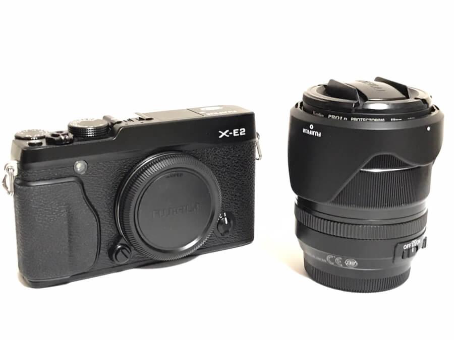 FUJIFILM(富士フイルム) X-E2 XF-18-55mm F2.8-4 R LM OIS レンズキット