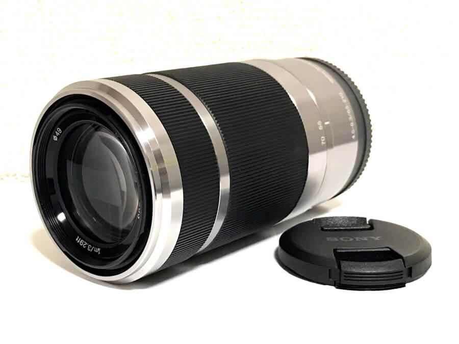 SONY E 55-210mm F4.5-6.3 OSS Eマウントレンズ SEL55210