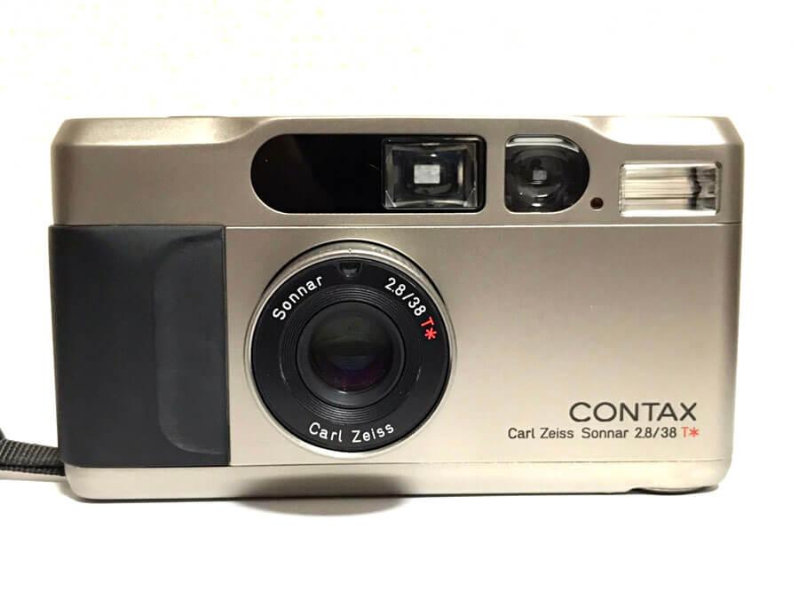 CONTAX(コンタックス) T2 高級コンパクトカメラ-2