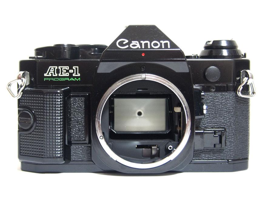 CANON(キヤノン) AE-1 PROGRAM + ZOOM LENS FD 35-70mm F3.5-4.5 一眼レフフィルムカメラ-2