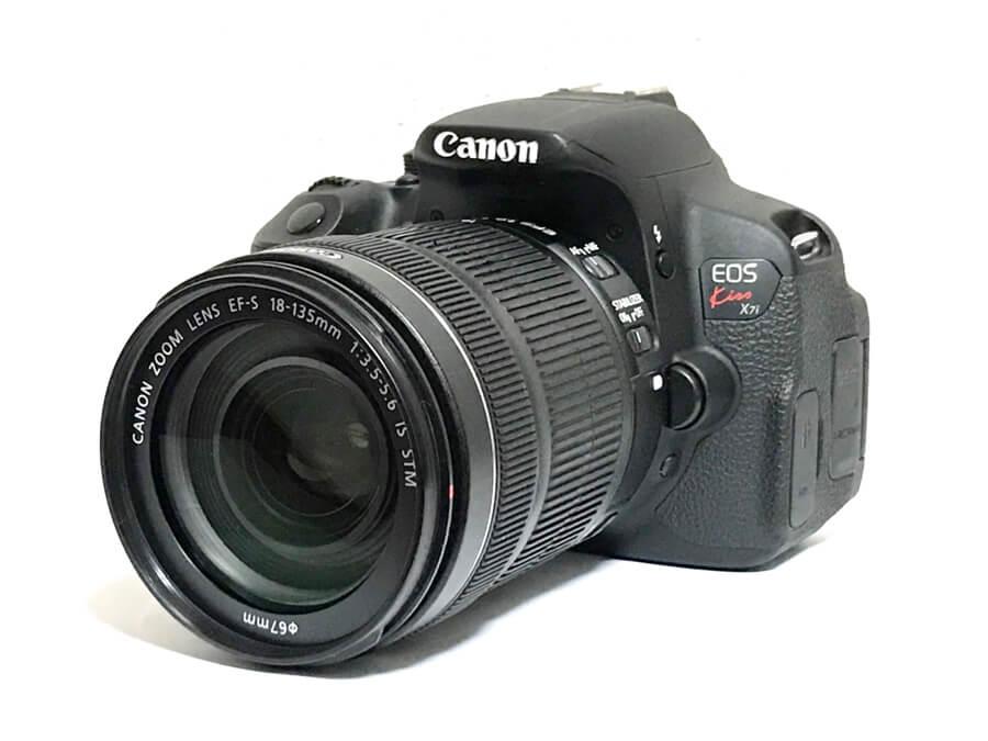 Canon EOS kiss x7i デジタル一眼レフカメラ EF-S 18-135mm 13.5-5.6 IS STM レンズキット