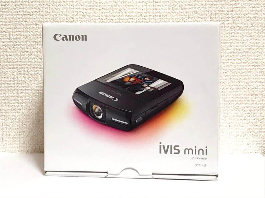Canon iVIS mini ブラック HDビデオカメラ