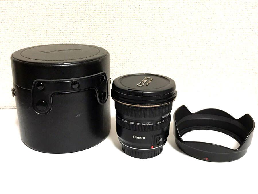 CANON(キヤノン) ZOOM LENS EF 20-35mm F3.5-4.5 USM 広角ズームレンズ-5