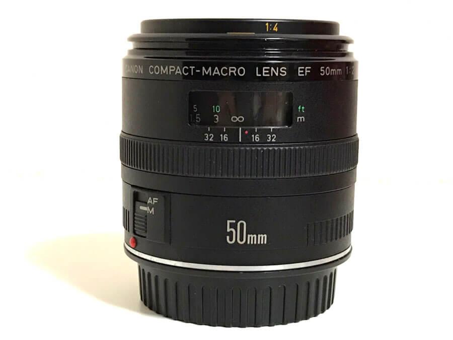 Canon(キヤノン) COMPACT-MACRO LENS EF 50mm F2.5 単焦点レンズ-4