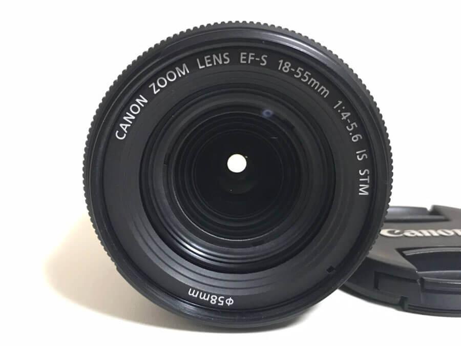 Canon(キヤノン) ZOOM LENS EF-S 18-55mm F4-5.6 IS STM ズームレンズ-2