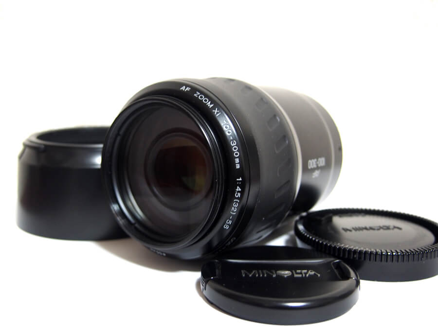 MINOLTA AF ZOOM Xi 100-300mm 14.5 (32) -5.6 φ55mm ズームレンズ