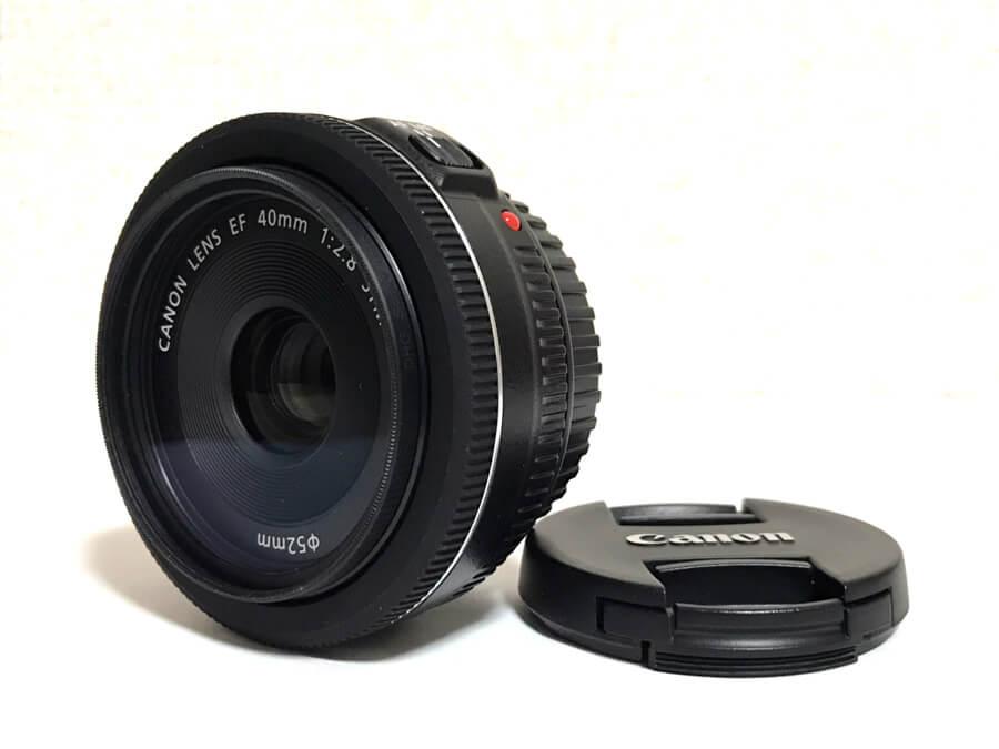 Canon LENS EF 40mm F2.8 STM パンケーキレンズ