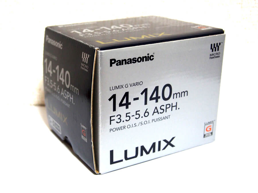 Panasonic LUMIX G VARIO 14-140mm F3.5-5.6 ASPH H-FS14140-KA ズームレンズ