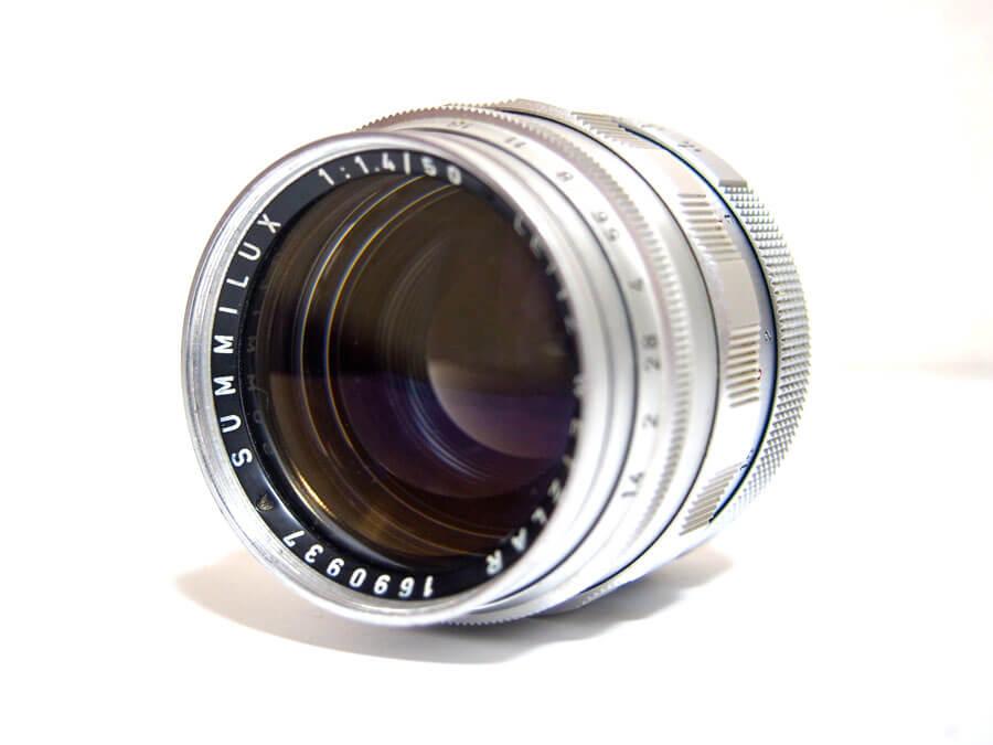 Leica SUMMILUX ズミルックス 50mm F1.4 単焦点レンズ