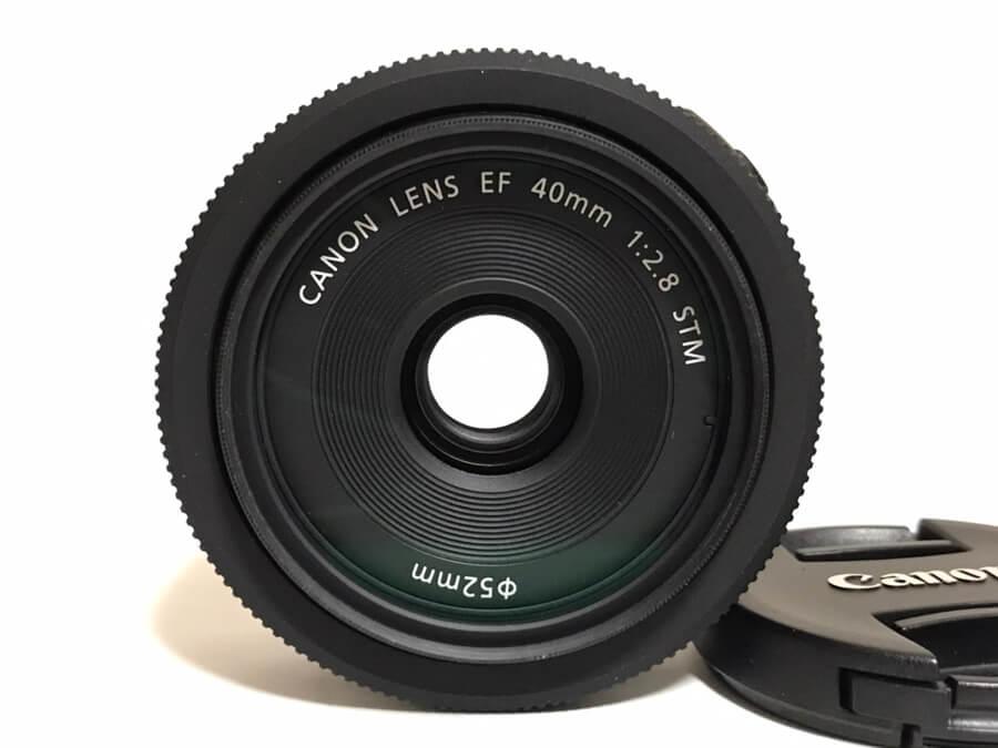 Canon LENS EF 40mm F2.8 STM パンケーキレンズ-2