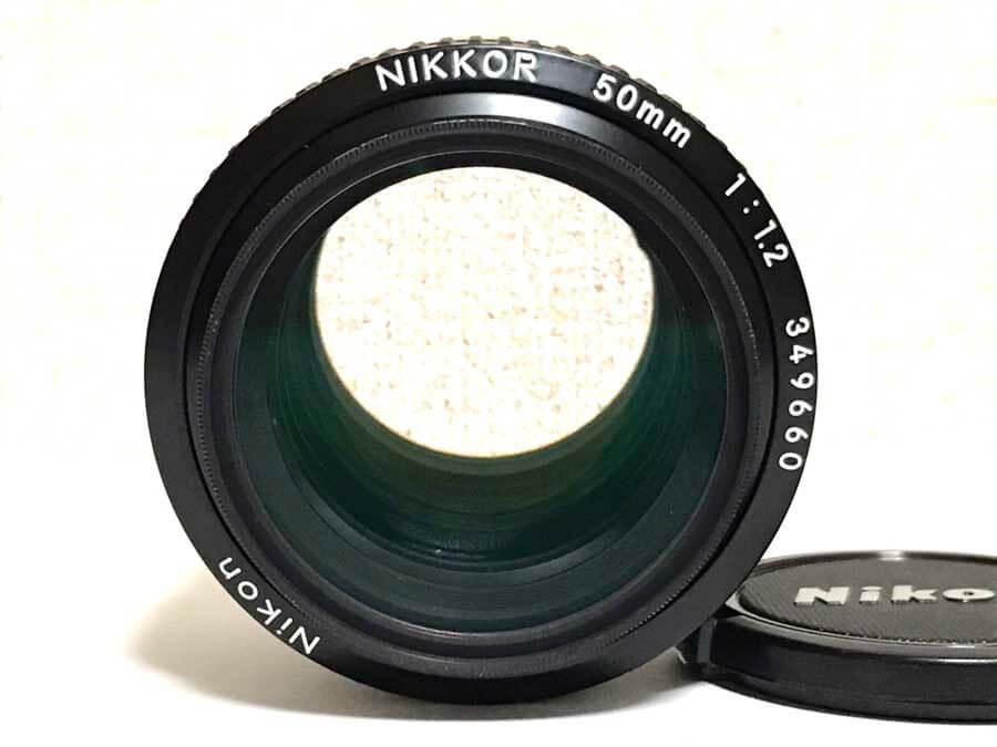 Nikon(ニコン) F NIKKOR 50mm F1.2 Fマウント 単焦点レンズ-2