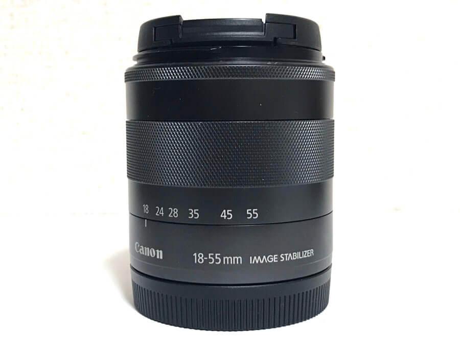 Canon  ZOOM LENS EF-M 18-55mm F3.5-5.6 IS STM EOS Mマウント 標準ズームレンズ-2