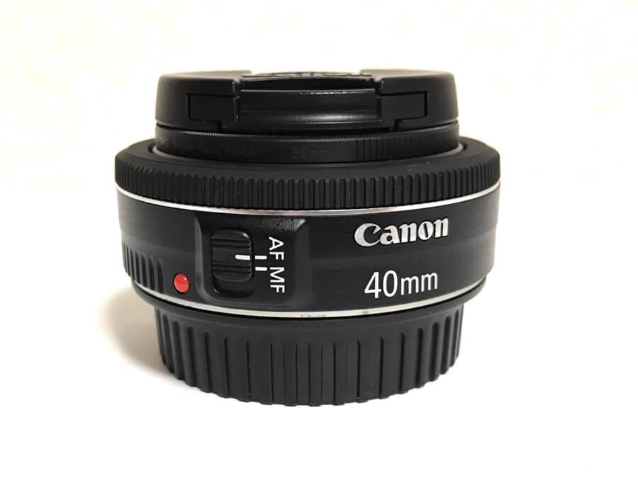 Canon LENS EF 40mm F2.8 STM パンケーキレンズ-4