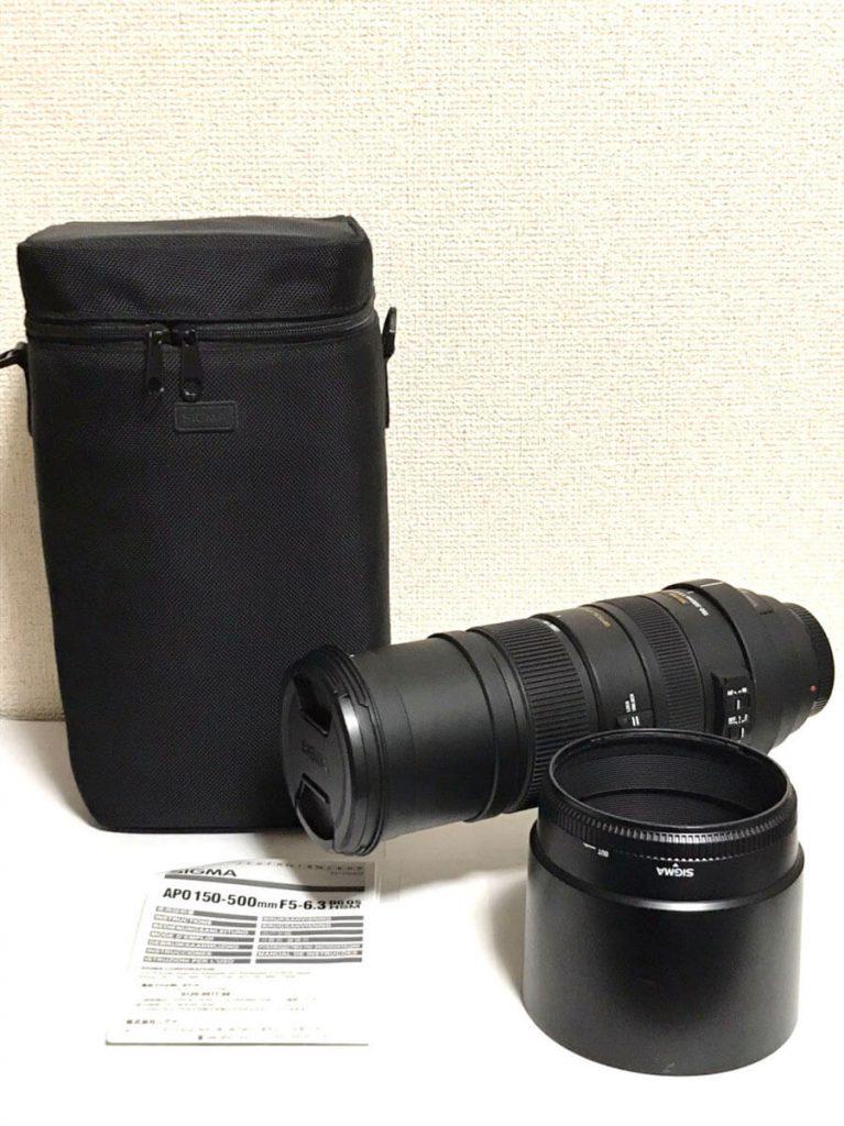 SIGMA(シグマ)APO 150-500mm F5-6.3 DG OS HSM (ソニーAマウント用レンズ)-4