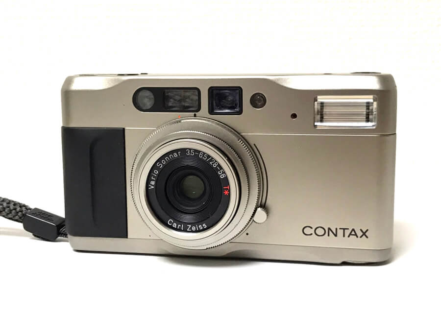 CONTAX TVS 高級コンパクトフィルムカメラ
