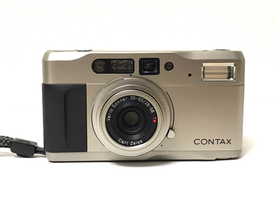 CONTAX TVS 高級コンパクトフィルムカメラ-2