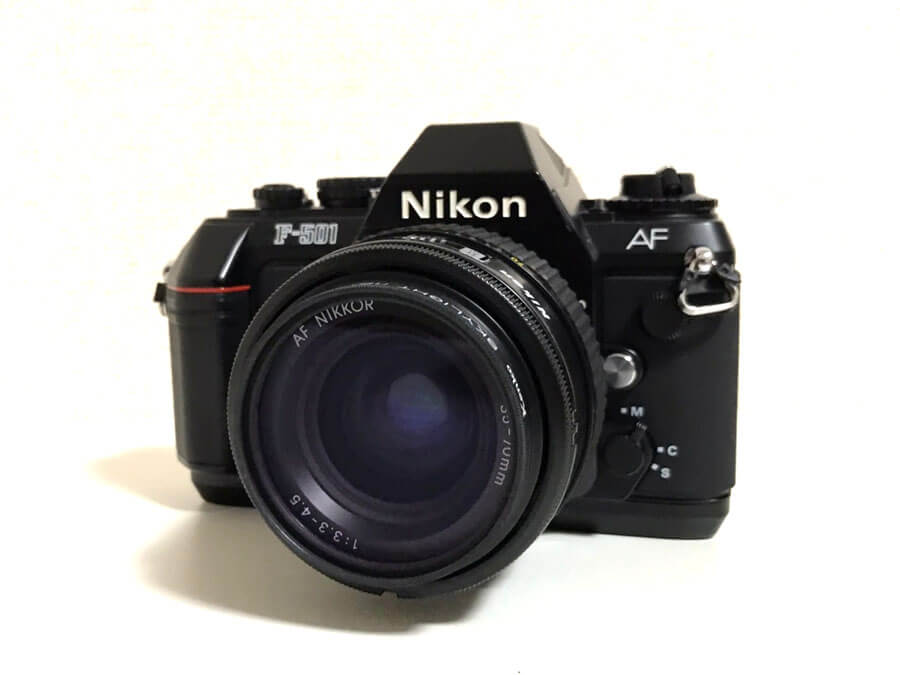 Nikon F-501 AF NIKKOR 35-70mm F3.3-4.5 一眼レフカメラ ズームレンズセット