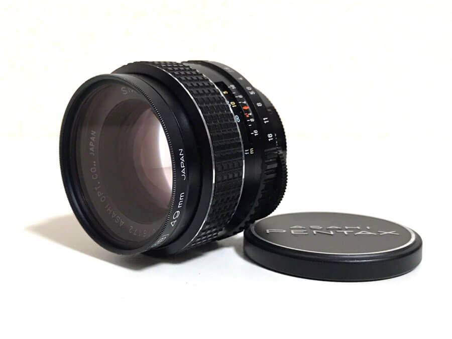 PENTAX(ペンタックス) SMC TAKUMAR 55mm F1.8 単焦点レンズ