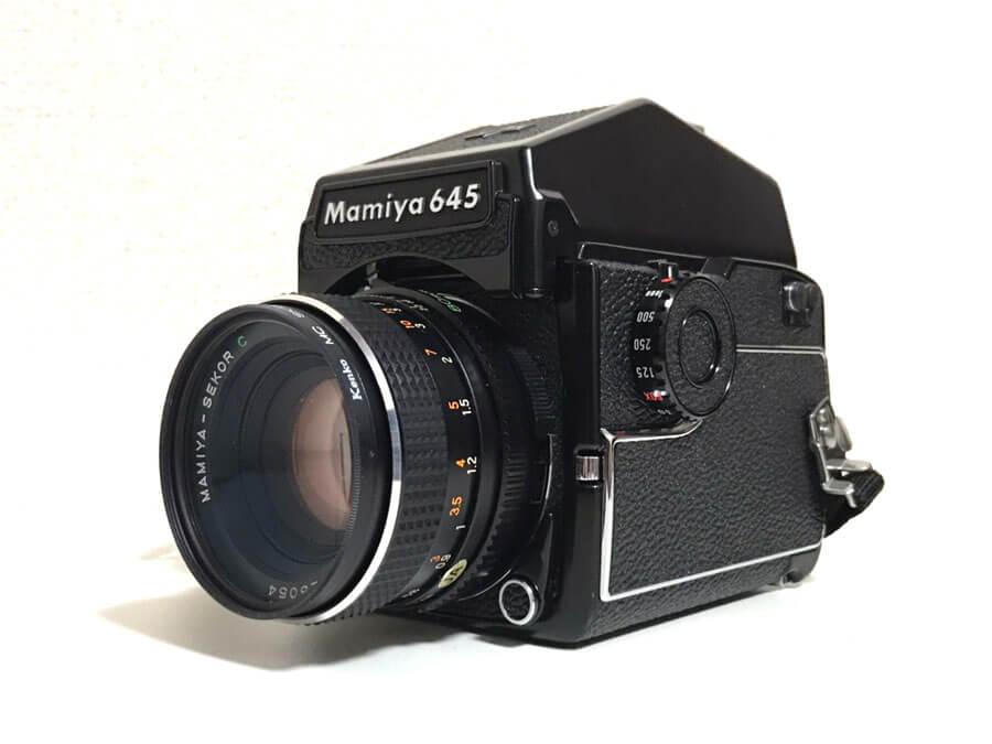 Mamiya 645 1000S SEKOR C 80mm F2.8 中判カメラ