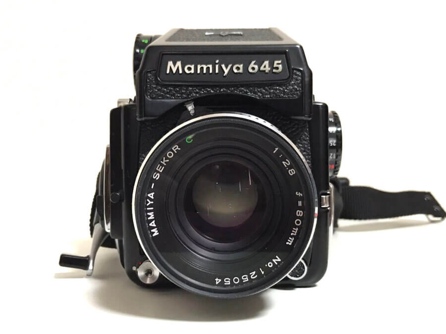 Mamiya 645 1000S SEKOR C 80mm F2.8 中判カメラ-2
