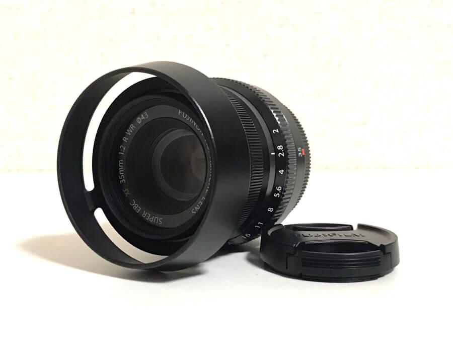 FUJIFILM(富士フイルム) FUJINON ASPHERICAL LENS SUPER EBC XF 35mm F2 R WR 単焦点レンズ