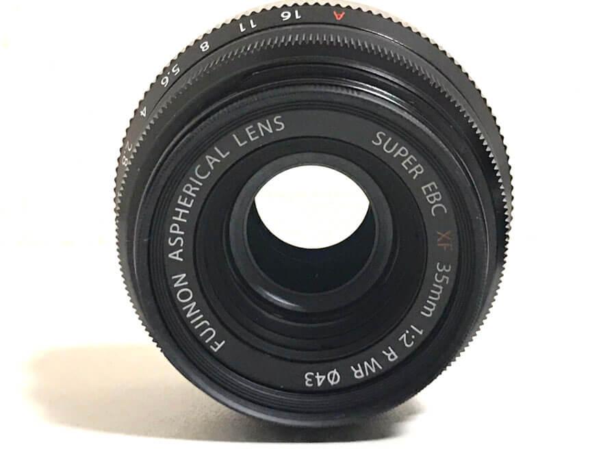 FUJIFILM(富士フイルム) FUJINON ASPHERICAL LENS SUPER EBC XF 35mm F2 R WR 単焦点レンズ-2