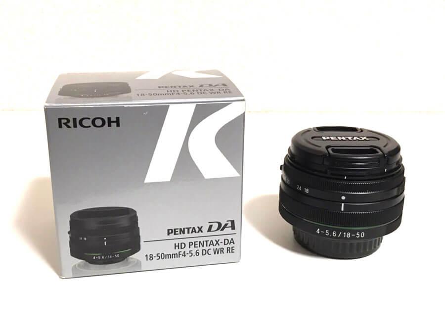 PENTAX(ペンタックス ) HD PENTAX-DA 18-50mm F4-5.6 DC WR RE ズームレンズ