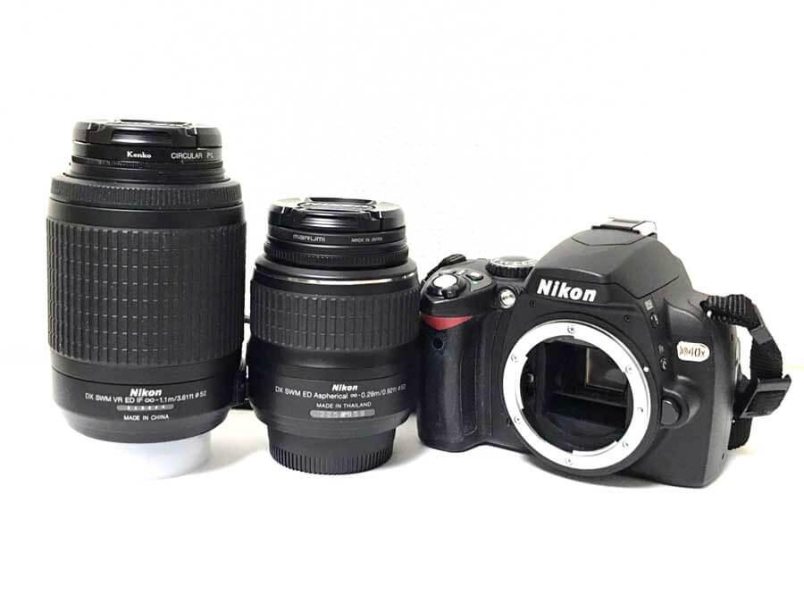 Nikon(ニコン) D40x ダブルズームキット 一眼レフカメラ