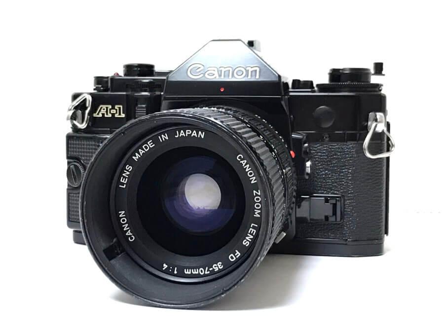 Canon A-1 一眼レフカメラ ZOOM LENS FD 35-70mm F4