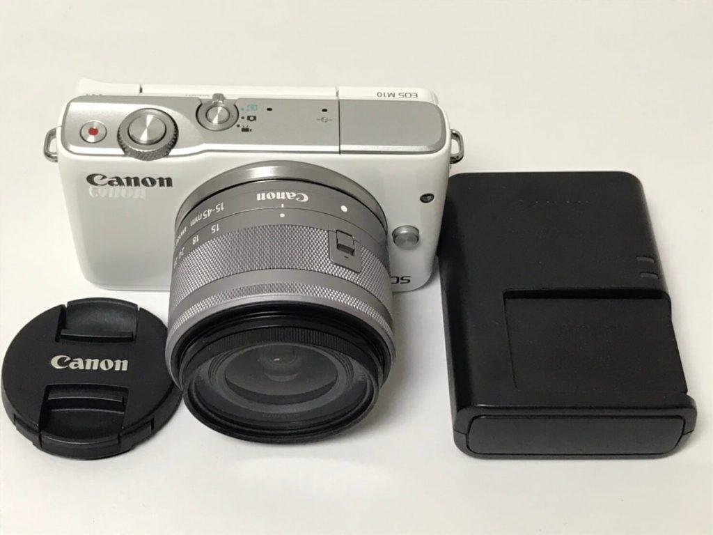 CANON EOS M10 EF-M15-45 IS STM レンズキット ミラーレス一眼カメラ-3